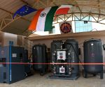 Free Photo: Italian envoy switches on oxygen plant at ITBP hospital in Greater Noida