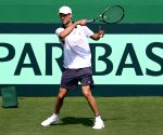 Davis Cup - Practice session - Italy