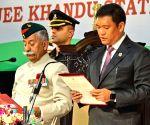 Pema Khandu sworn in as Arunachal Pradesh CM