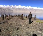 ITBP performs Yoga at 18,000ft icy heights of Ladakh