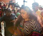 J Deepa files nomination for R.K. Nagar by-polls