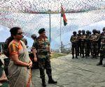 J&K: Nirmala Sitharaman visits Balbir forward post