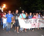 JU students' victory torch rally
