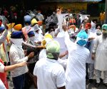 Sikhs protest against ISI for backing pro-Khalistan activities