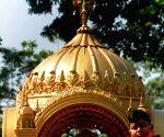 Jain devotees participate in religious procession on Karthik Purnima