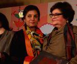 Jaipur Literature Festival  - Shabana Azmi with Salima Hashmi