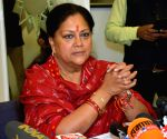 Vasundhara Raje concedes defeat