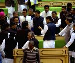 Rajasthan Congress gets back at BJP with cow, Sanskrit & farmers