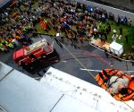 INDONESIA-JAKARTA-NATIONAL DISASTER PREPAREDNESS DAY-DRILL