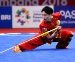 INDONESIA-JAKARTA-ASIAN GAMES-WUSHU-MEN'S DAOSHU & GUNSHU ALL-ROUND