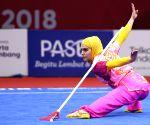 INDONESIA-JAKARTA-ASIAN GAMES-WUSHU-WOMEN'S JIANSHU & QIANGSHU ALL-ROUND
