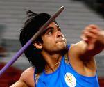 Neeraj Chopra sets national record in javelin