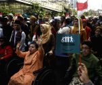 INDONESIA JAKARTA DISABILITY RALLY