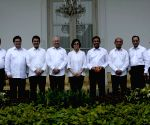 INDONESIA JAKARTA NEW CABINET ANNOUNCEMENT