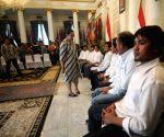 INDONESIA JAKARTA HOSTAGES RETURN