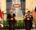 INDONESIA JAKARTA ARMENIAN FOREIGN MINISTER VISIT