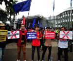 INDONESIA JAKARTA NETHERLANDS EMBASSY PROTEST