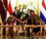 INDONESIA JAKARTA DUTCH PM VISIT