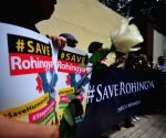 INDONESIA JAKARTA ROHINGYA PROTEST