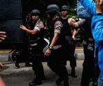 INDONESIA JAKARTA BOMB SQUAD INSPECTION