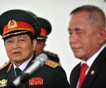 INDONESIA JAKARTA VIETNAM DEFENSE MINISTER MEETING