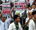 INDONESIA JAKARTA GOVERNOR MUSLIMS RALLY