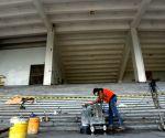 INDONESIA JAKARTA STADIUM RENOVATION ASIAN GAMES 2016 PREPARATION