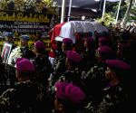 INDONESIA JAKARTA FORMER PRESIDENT FUNERAL