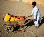 AFGHANISTAN-NANGARHAR-PUBLIC WATER PUMP-DISPLACED CAMP
