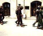 AFGHANISTAN NANGARHAR SUSPECTED MILITANTS ARREST