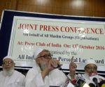 Muslim board press conference
