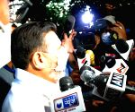 Jammu and Kashmir Apni Party leader   Syed Mohammad Altaf Bukhari, address to media after meeting with prime minister Narendra Modi in New Delhi.