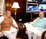 J&K Governor meets Amit Shah