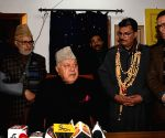 Farooq Abdullah's press conference