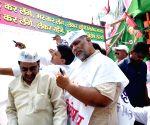 Pappu Yadav's demonstration