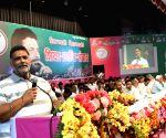 Pappu Yadav addresses during a programme