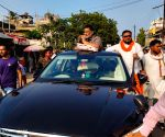 :Patna:Jan Adhikar Party President Pappu Yadav campaign in favour of Congress candidate at Tarapur constituency,