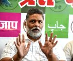 Jan Adhikar Party President Pappu Yadav on Sunday said that the Karni Sena people who had come from outside after the killings in Madhubani tried to create a frenzy in the society
