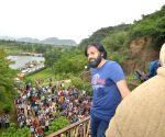 Undavalli (Andhra Pradesh): Pawan Kalyan visits Undavalli Caves