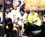 Haridwar (Uttarakhand): Pawan Kalyan at 'Ganga Arti
