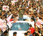 Pawan Kalyan during a rally