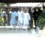 Janata Dal U) leaders meeting Chief Election Commissioner