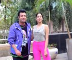 Janhvi Kapoor & Varun Sharma at Novotel