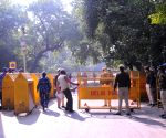 Jantar Mantar closed in view of the 'Dilli Chalo' call given by various farmers' outfits against Farm Laws 2020