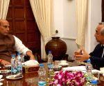 Japanese Ambassador meets Rajnath Singh