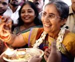 Jashodaben Modi in Patna