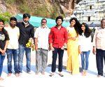 Jati Ratnalu Movie Team Visited Kanaka Durga Temple at Vijayawada and spoke to media at Novatel Hotel at Vijayawada - Andrhra Pradesh