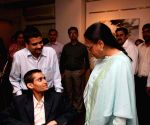 Jaya Bachchan and Shobojit Kaushal's at his first and last art event organsied by CPAA.