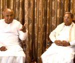 Deve Gowda calls on Karnataka CM