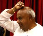HD Deve Gowda's press conference
